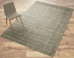 3d fiber wood rug