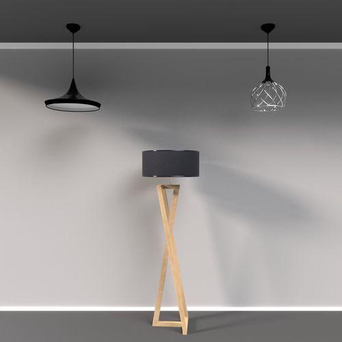 free- pack of lamps for interior visualizations  3d model obj mtl 3ds fbx blend 1