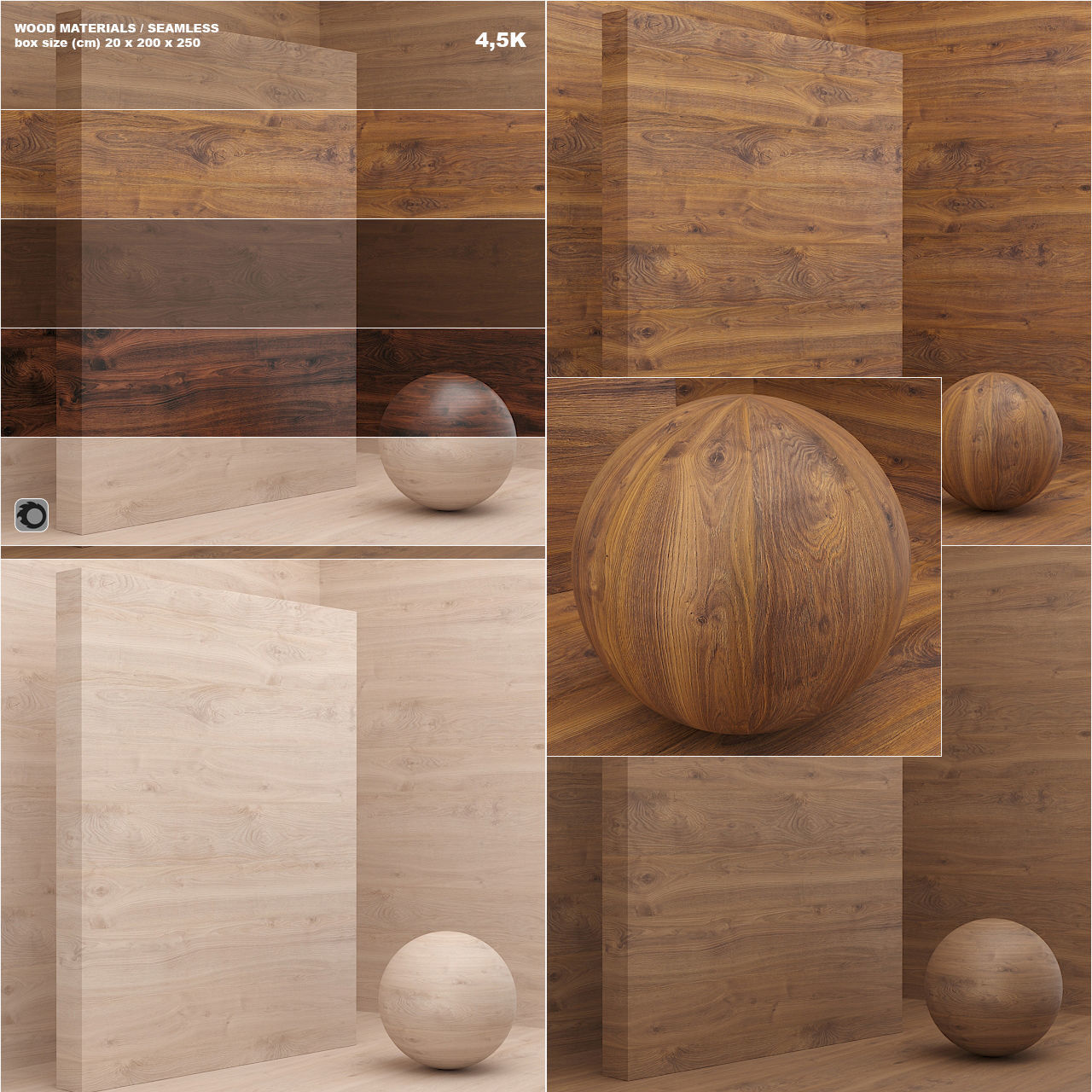 Material wood  veneer seamless