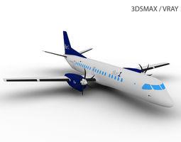3D model SAAB 2000