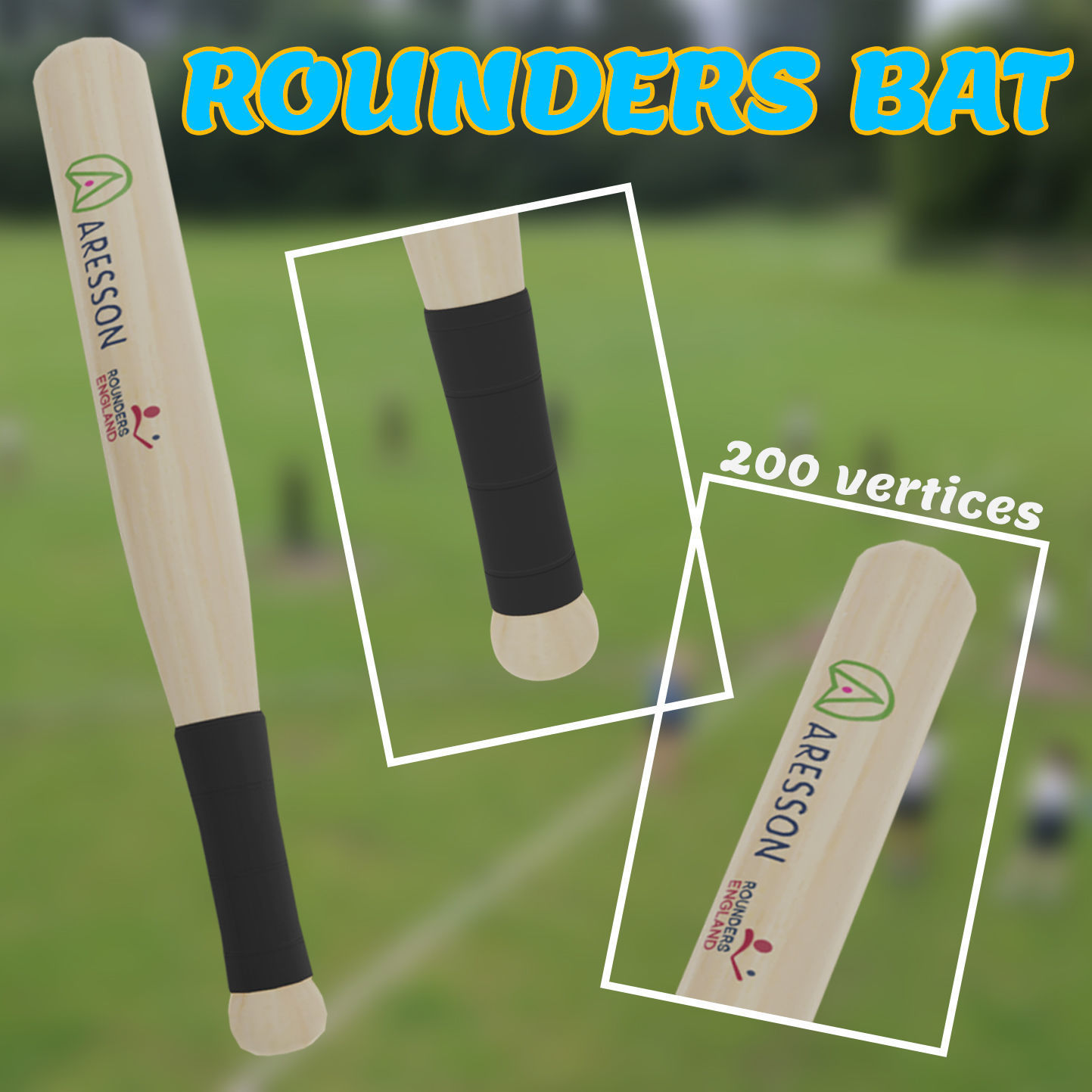 Rounders Bat