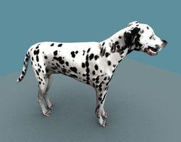3D model DALMATIAN DOG