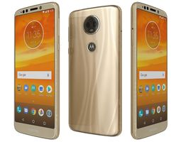 Motorola Moto E5 Plus Fine Gold 3D model