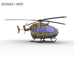 3D model UH-72 LAKOTA