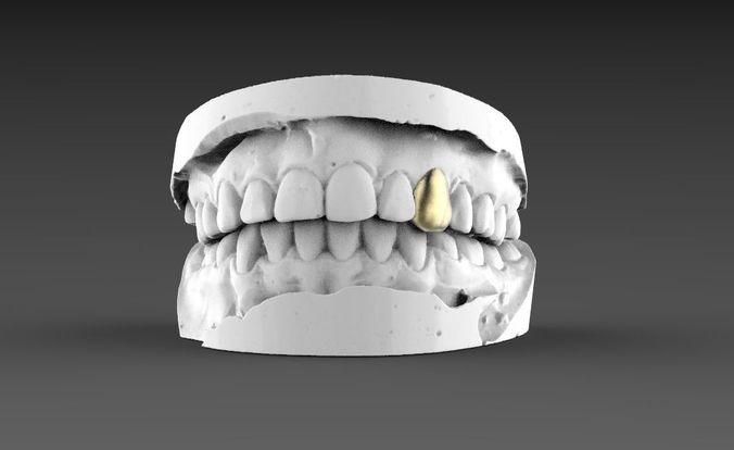jaw teeth 3d model max obj mtl fbx stl 1