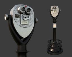 Tower Optical Binocular Viewer 3D asset