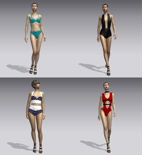 Woman swimsuits