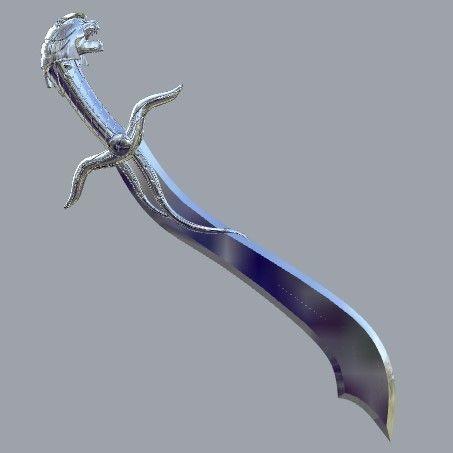 SABA SWORD CONCEPT POWER RANGERS