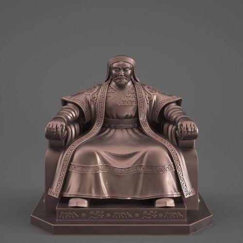 Genghis Khan   3D Print Model