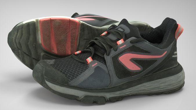 female sport sneakers 3d model max obj mtl fbx ma mb blend 1 2109b9353