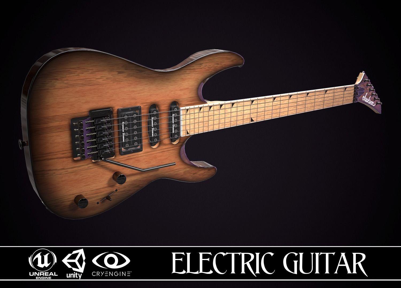 Electric Guitar Jackson Dinky Cherry