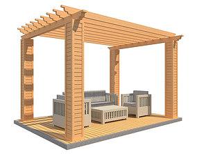 Pergola 24 3D model