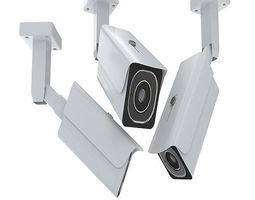 4K Security Camera 3D model