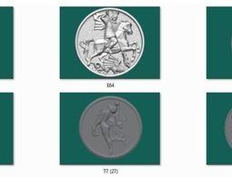 3D printable model 6 coin