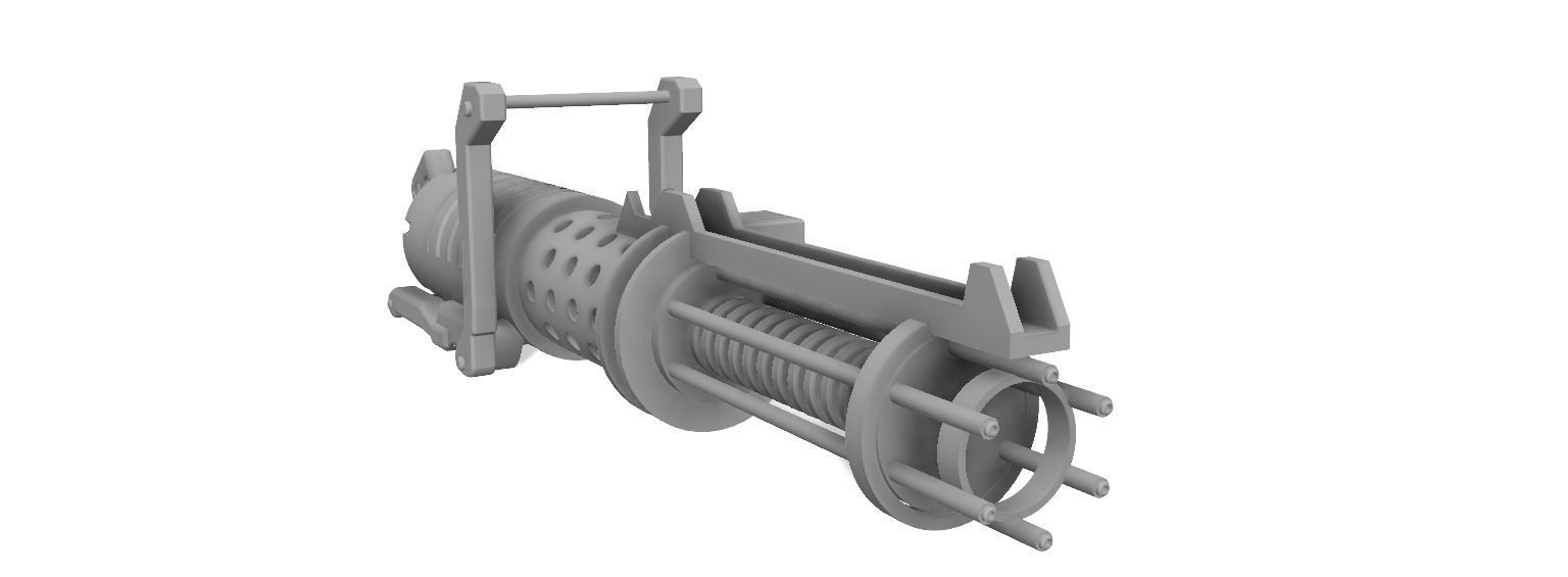 Z-6 Rotary Blaster Cannon - The Clone Wars