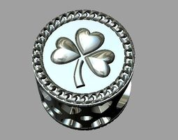 Clover Bead Pandora 3D printable model