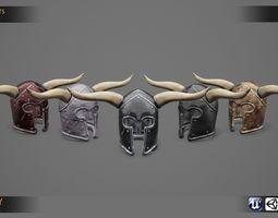 Roman - Medieval Helmet Collection 01 3D asset