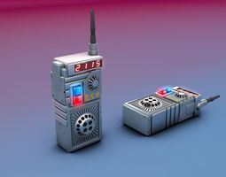 3D model CUSTOM SPACE INTERCOM