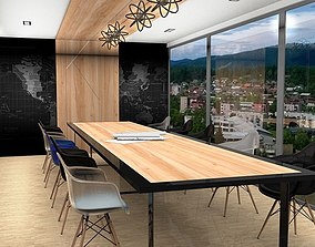 3D asset office-meeting room