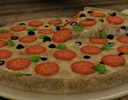 olives Pizza 3D model
