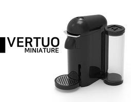 3D printable model NESPRESSO VERTUO Miniature