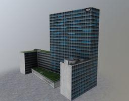 3D asset Hamburg IBM Tower