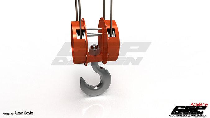 CGPdesign academyCrane hook- design by Almir Covic