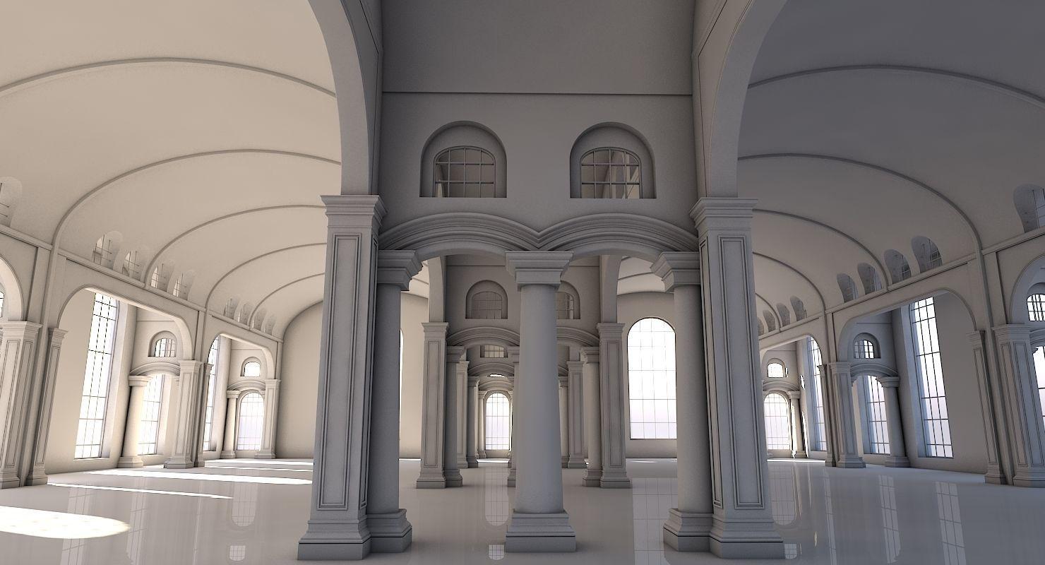 Classic Interior Scene