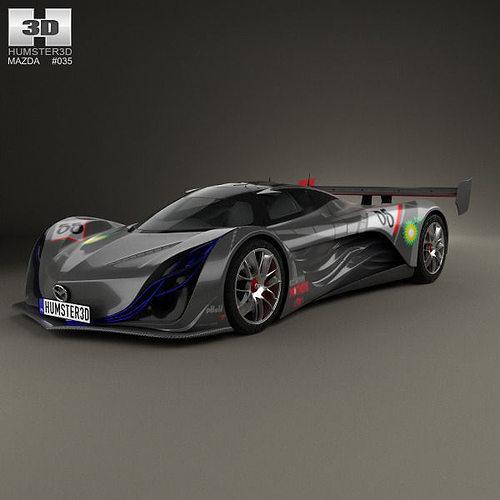 Mazda Furai 2008 3D model | CGTrader