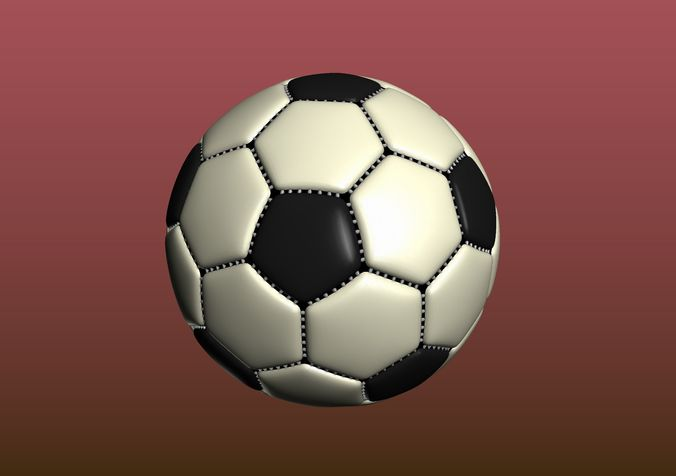 Soccer Ball 3d Print Model