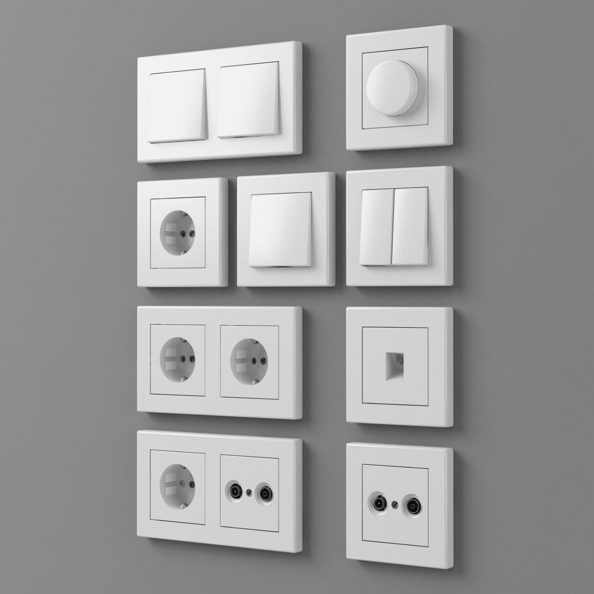 European outlets and switches 1 - electrical