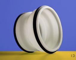 Ergonomic Back Pain Relief Wheel 3D print model