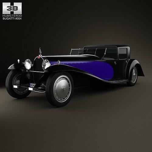 bugatti royale type 41 1927 3d model max obj mtl 3ds fbx c4d lwo lw lws 1