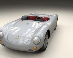 3D Porsche 550 Spyder