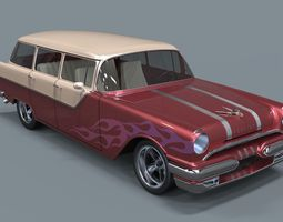 Pontiac Chieftain 1955 3D