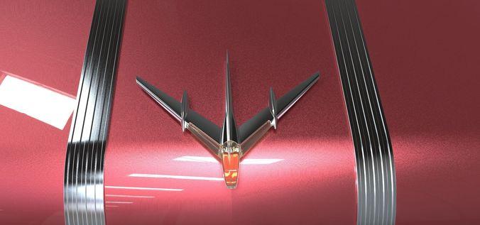 Pontiac Chieftain 1955 | 3D model