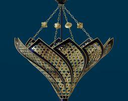 3D Moroccan floral shape lamp
