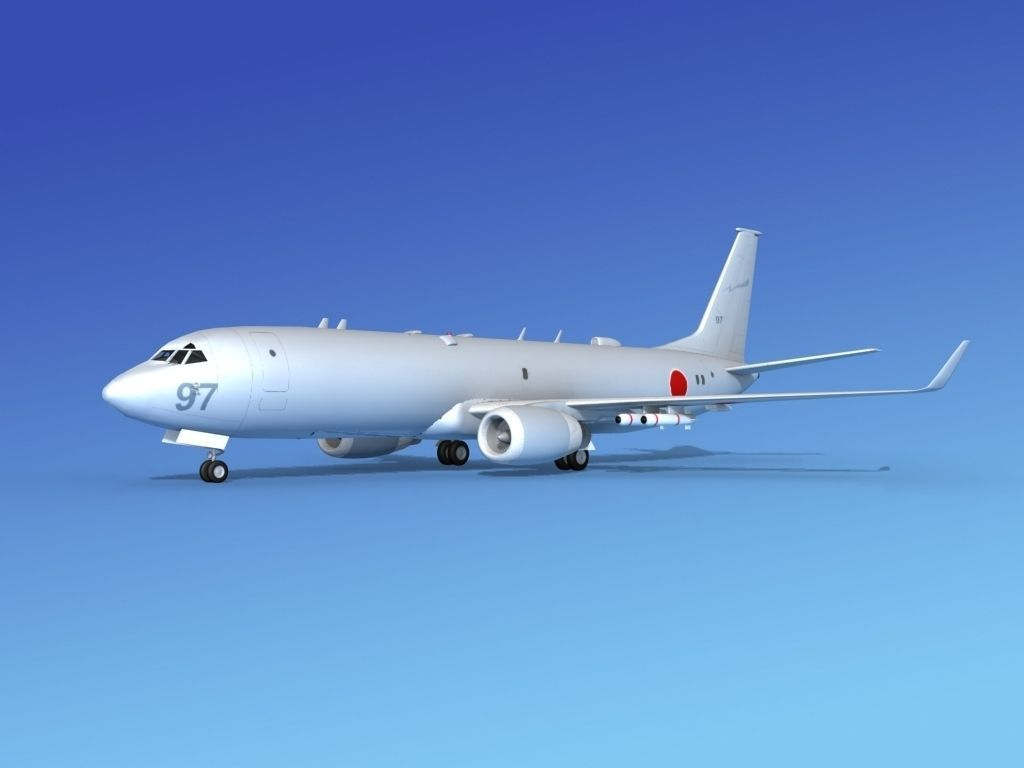 Boeing P-8 Poseidon Japanese Air Force