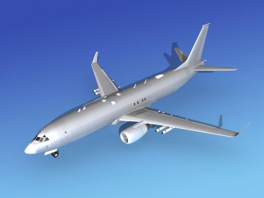 Boeing P-8 Poseidon Bare Metal