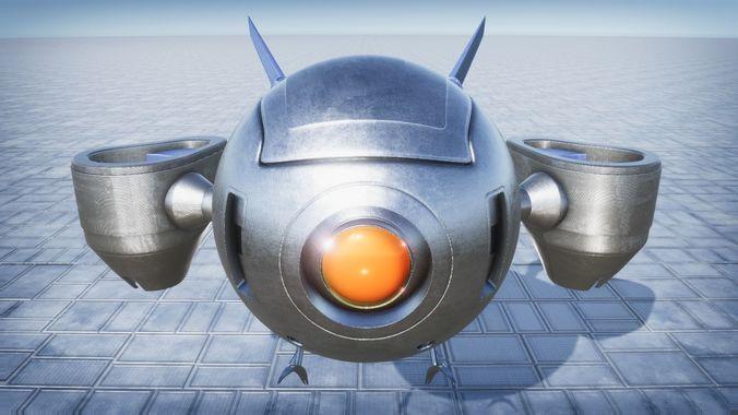 reconnaissance drone 3d model max obj mtl fbx stl blend 3dm 1