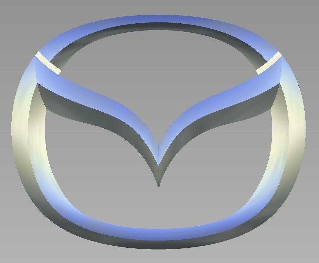 Mazda Logo | 3D Print Model