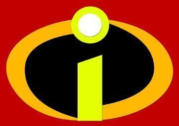 The Incredibles Logo Cookie Cutter Set 3d Print Model