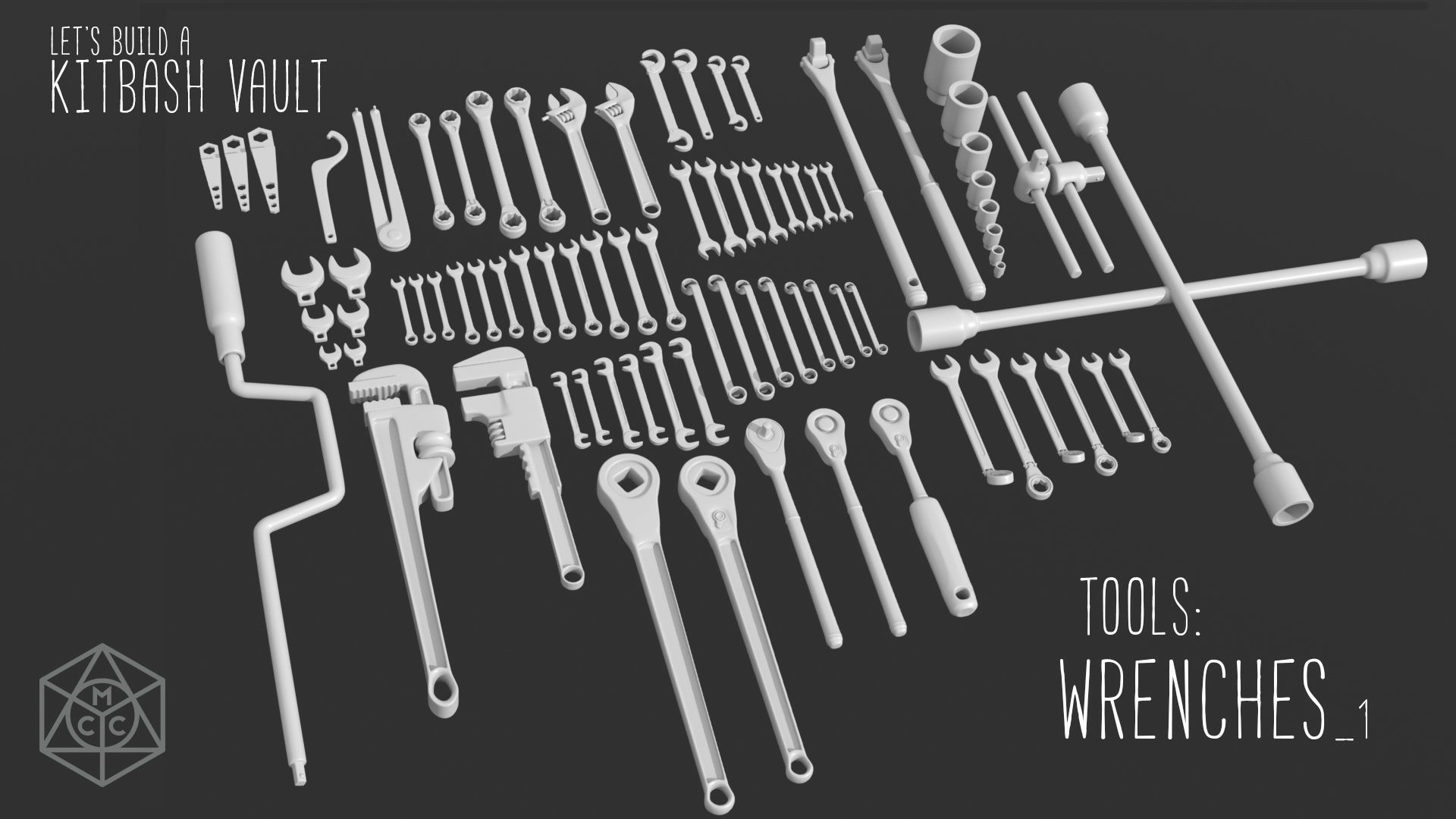 Kitbash Vault Tools Wrenches