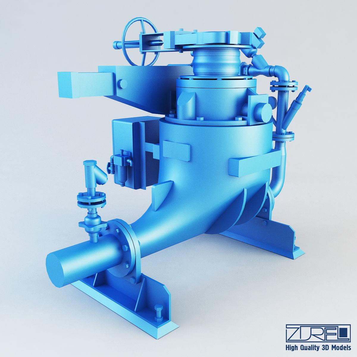 Ash vessel GA pump