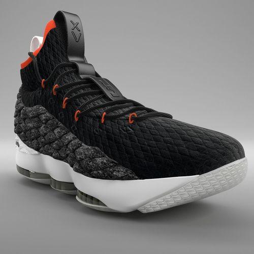 672908b081f9 Nike LeBron 15 Basketball PBR 3D