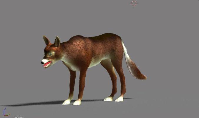 hell hound 3d model blend 1