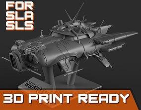 3D printable model Immortal flying car for SLA and SLS