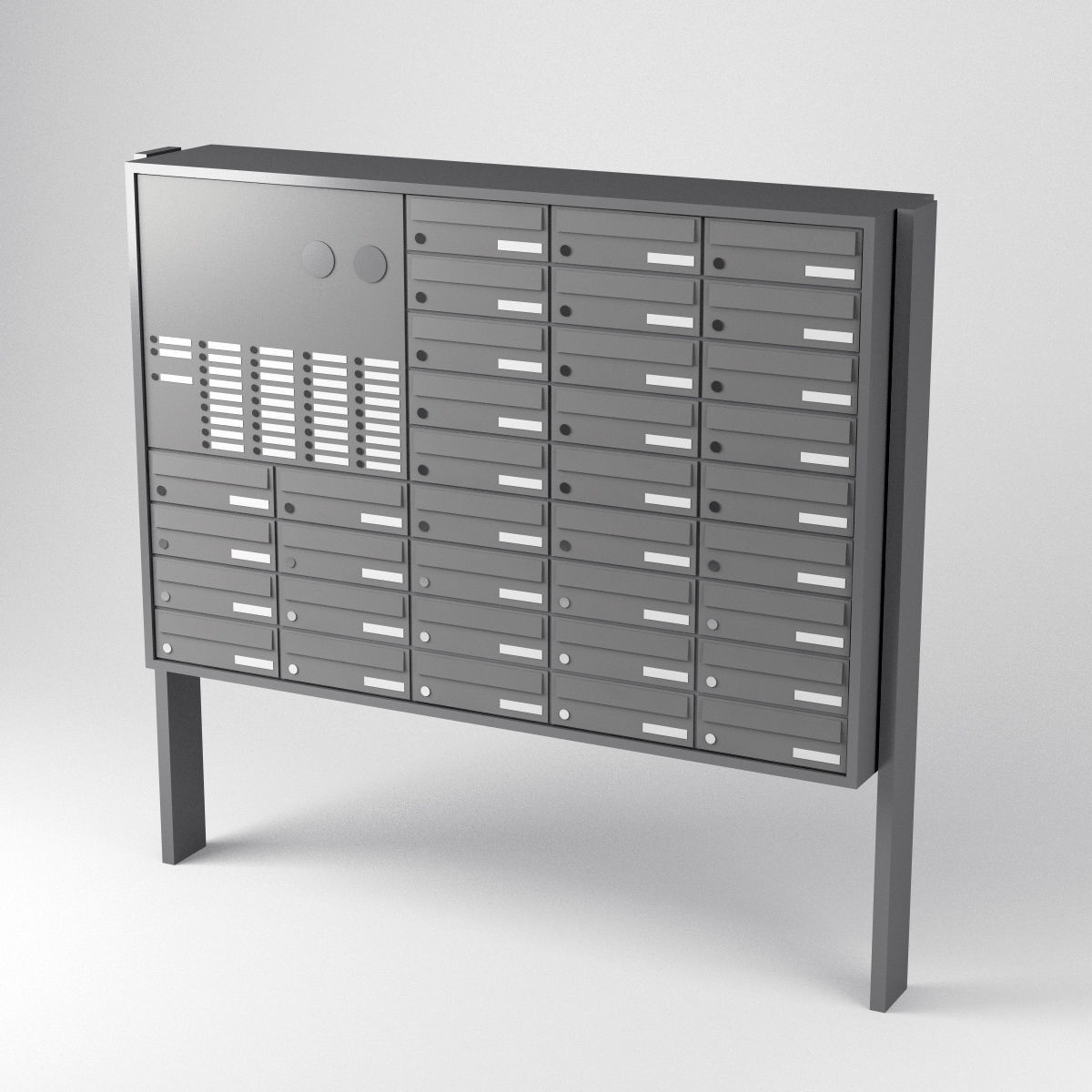 Simple Mailbox System Array Mailboxes