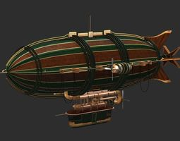 Air Ship Blimp 3D model