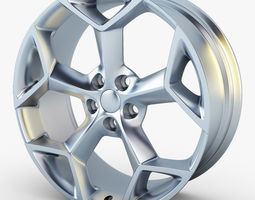 3d model mondeo y spoke 19 alloy wheel
